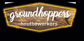 Groundhoppers houtbewerkers Logo